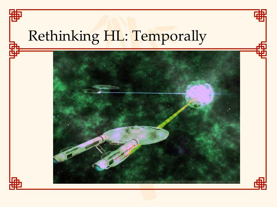 Rethinking HL: Temporally