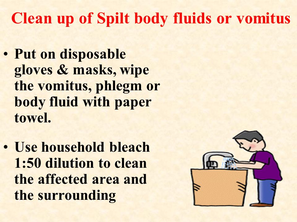 Daily Disinfection (Cont.) * Pay attention to all sides of beds, head and foot ends, bed side rails, lockers; doors, door-knobs, door handles, pull- push trolleys, taps and sinks.