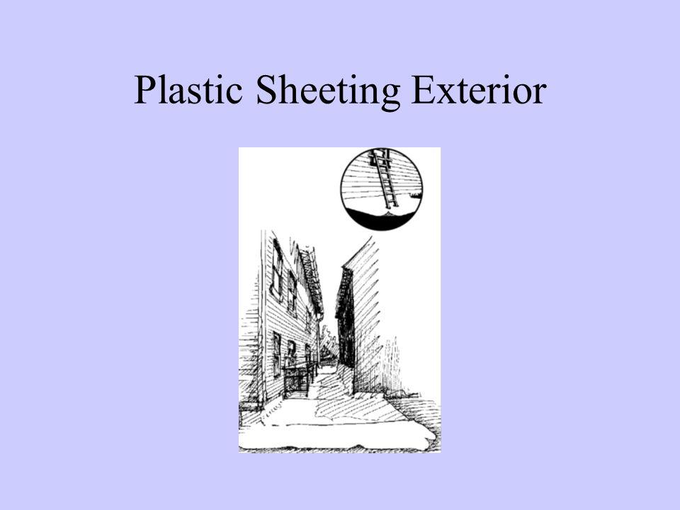 Plastic Sheeting Exterior