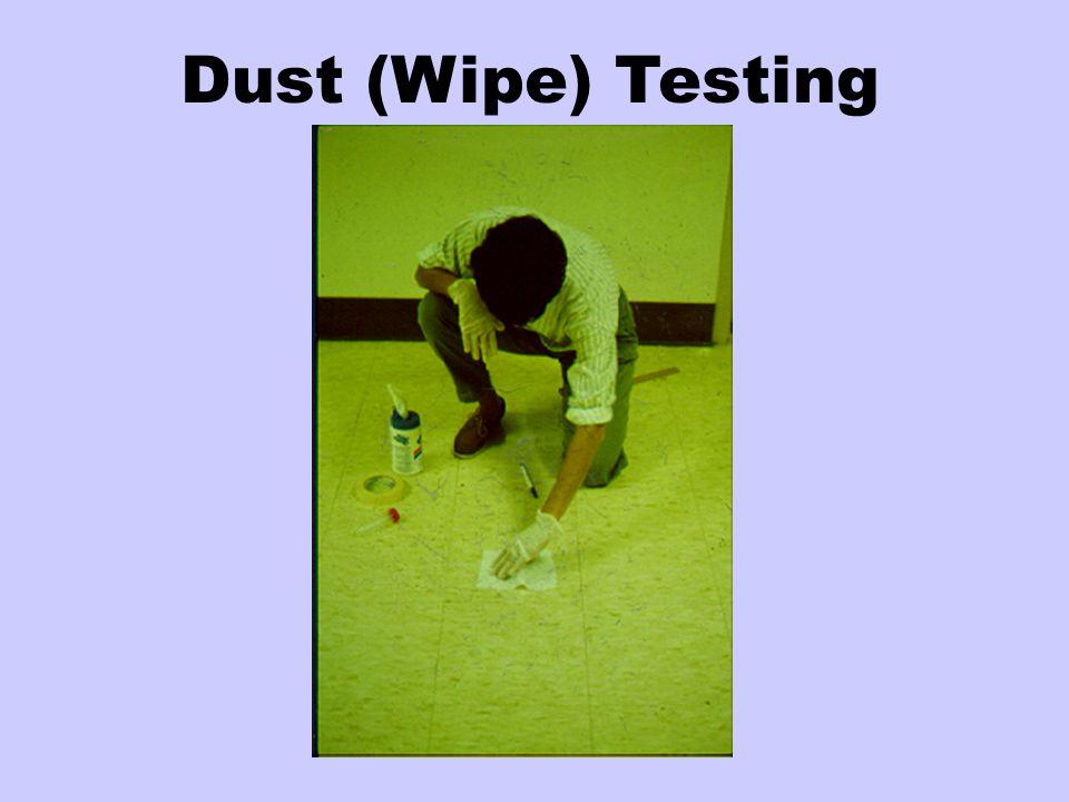 Dust (Wipe) Testing