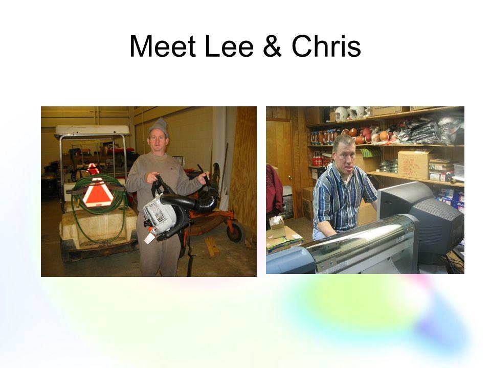 Meet Lee & Chris