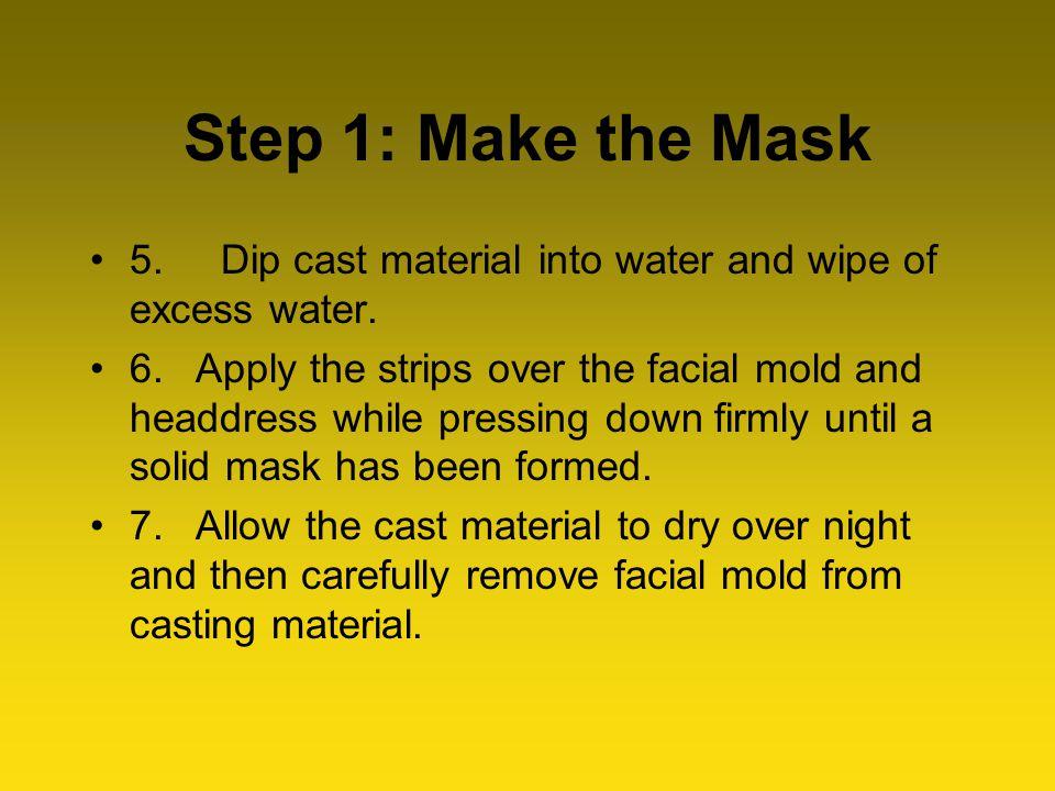 Step 2: Make the Beard 1.