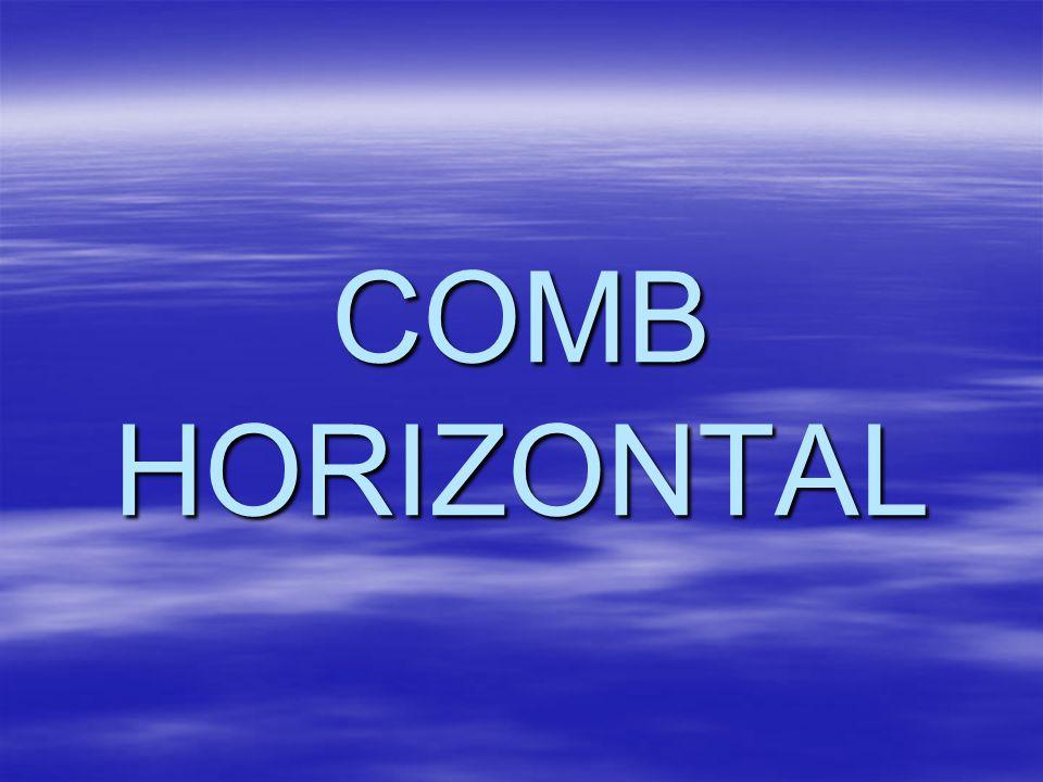 COMB HORIZONTAL