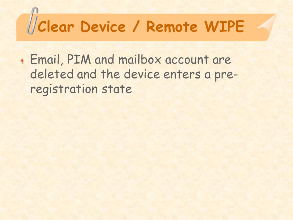 Palm OS Developed by Palm, Inc Designed for touch-screen-based graphical user interface Allows the user to set a password RSA SecurID