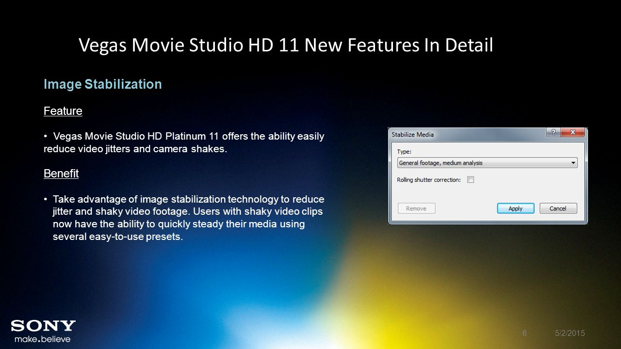 Vegas Movie Studio HD 11 New Features In Detail Titles & Text Plug-in Feature The Titles & Text plug-in enables animation and automation of text events.