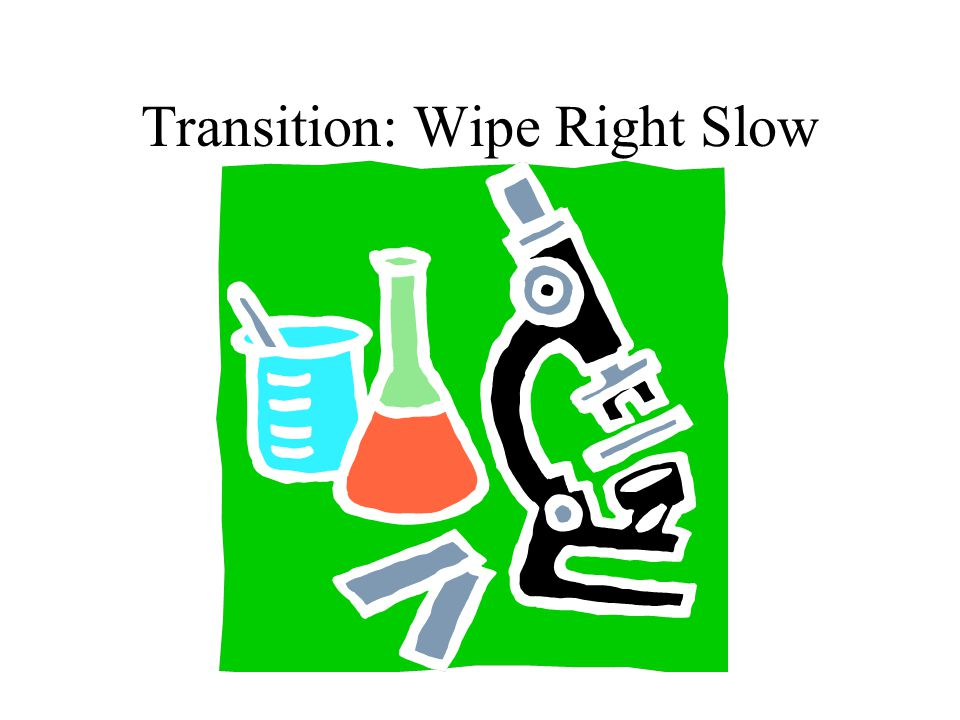 Transition: Wipe Right Slow