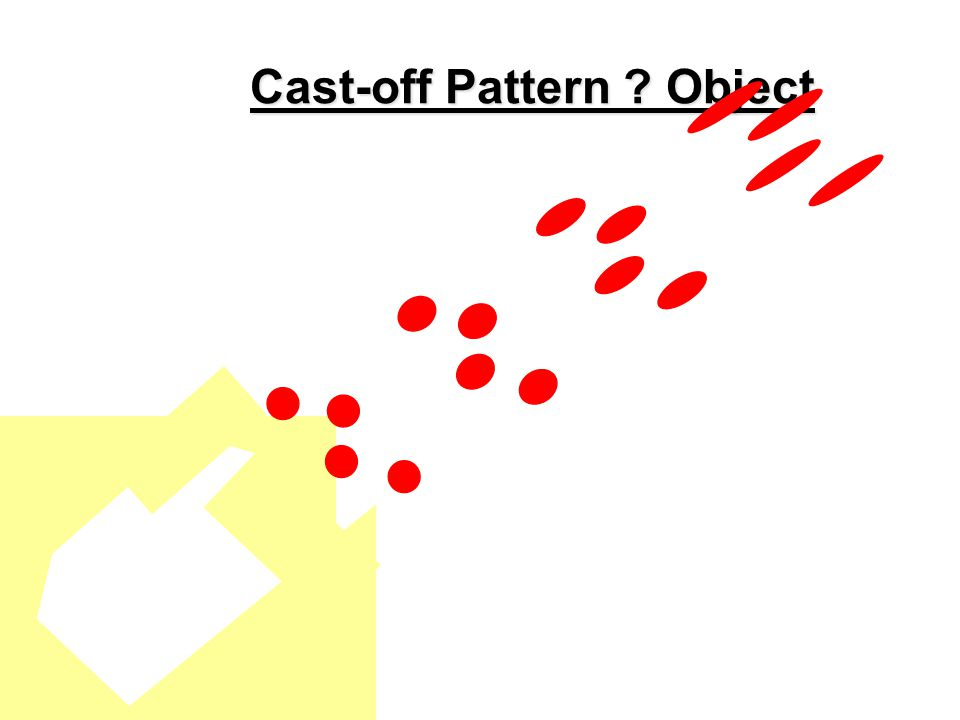 Cast-off & medium velocity spatter 2