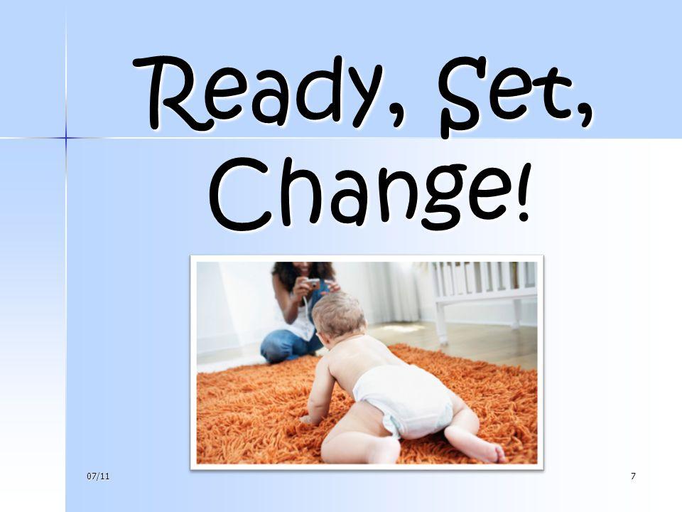 Ready, Set, Change! 07/117