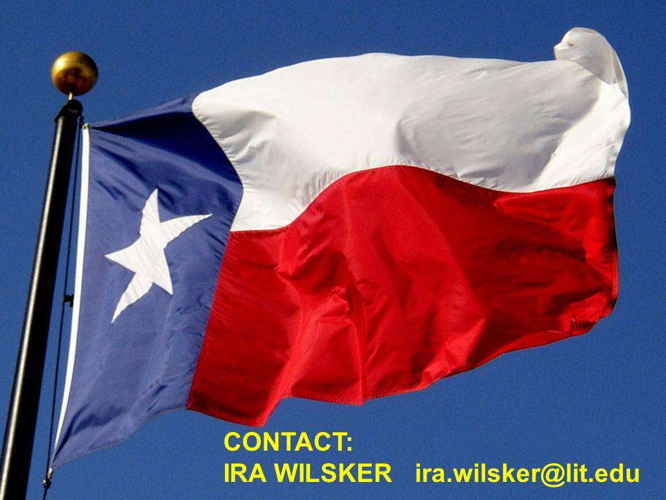 CONTACT: IRA WILSKER ira.wilsker@lit.edu
