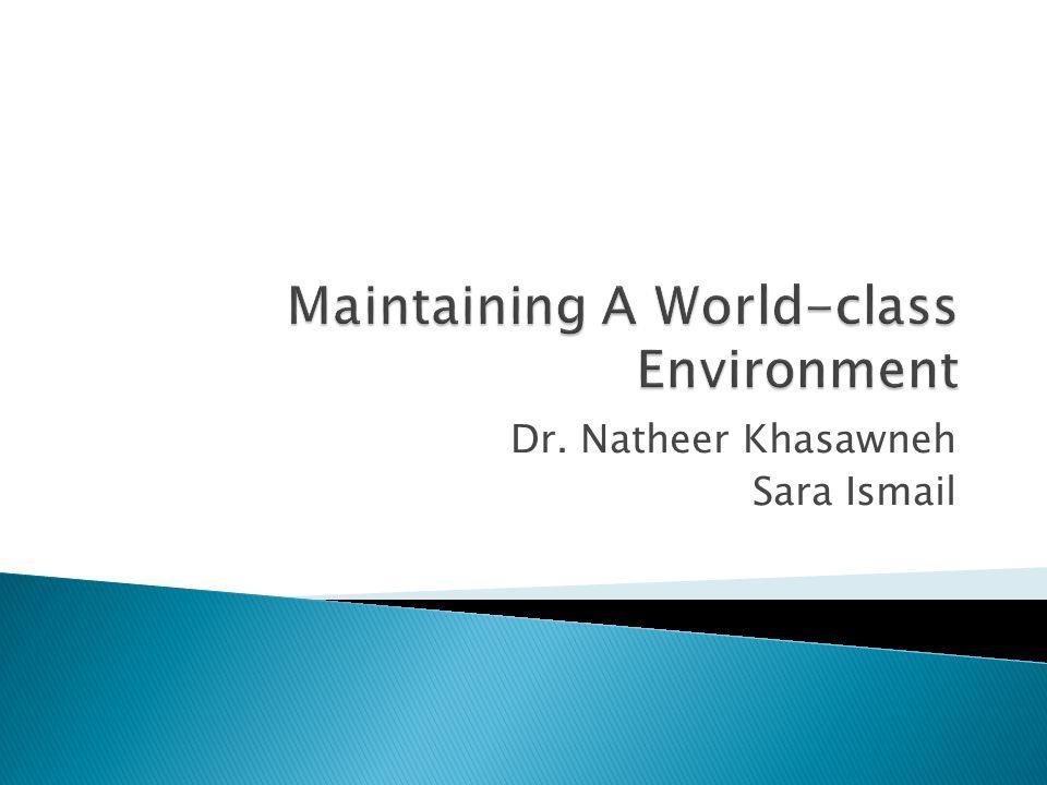 Dr. Natheer Khasawneh Sara Ismail