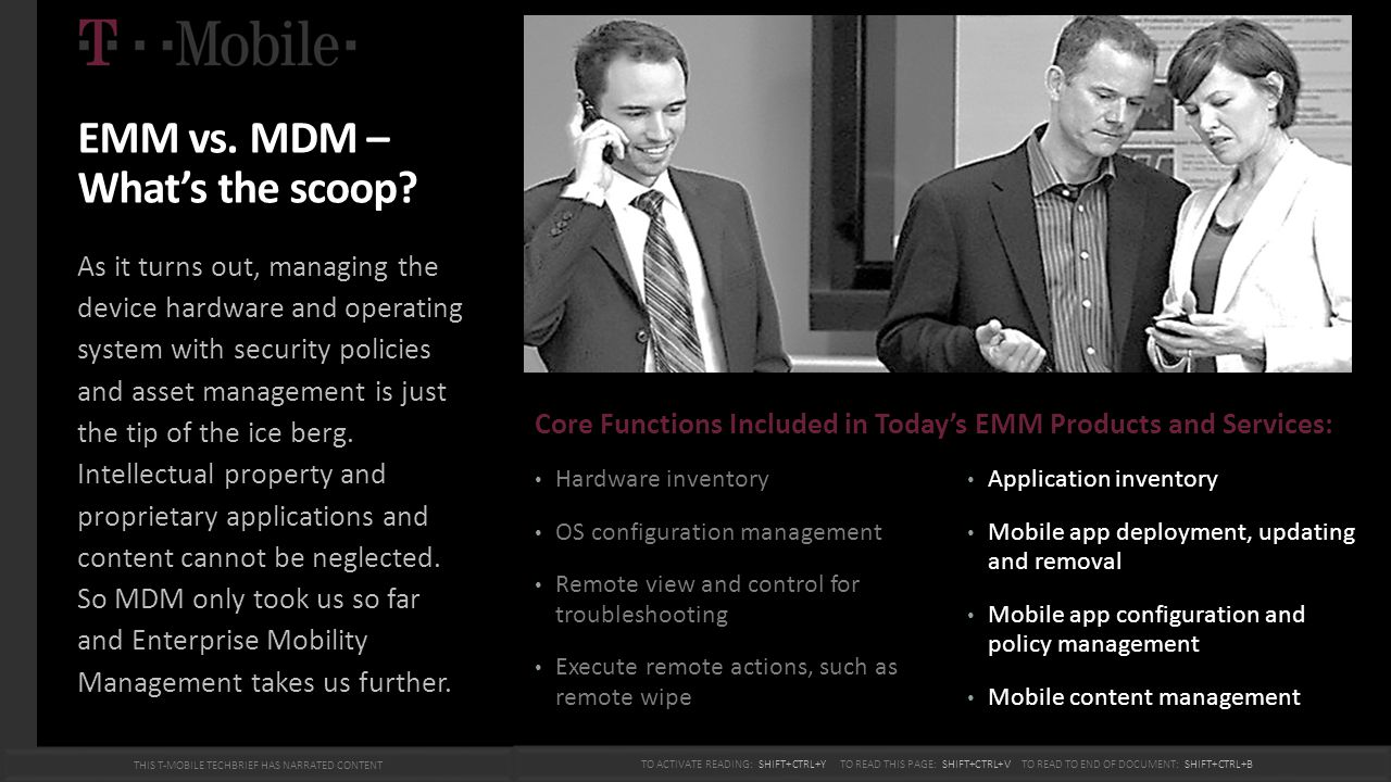 Mobile Application Management Access to applications from the mobile devices has made the transition from a simple personal and organizational information manager to a full-fledged operational workflow solution with the functionality of a computer.