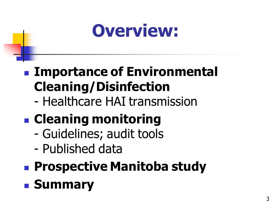 4 Evidence of HAI Transmission related to Environment MRSA: 1.Patients in ICU who acquired MRSA had same strain as found in the ICU environment (Hardy et al Infect Control Hosp Epidemiol 2006) 2.42% of 12 nurses contaminated gloves with MRSA by touching objects in room of patients with MRSA in wound or urine (Boyce J Environmental contamination makes an important contribution to hospital infection J Hosp Infect 2007;65:50-54.) 3.Contact with items from the environment just as likely to contaminate caregiver hands with MRSA as direct contact with the Patient's skin.