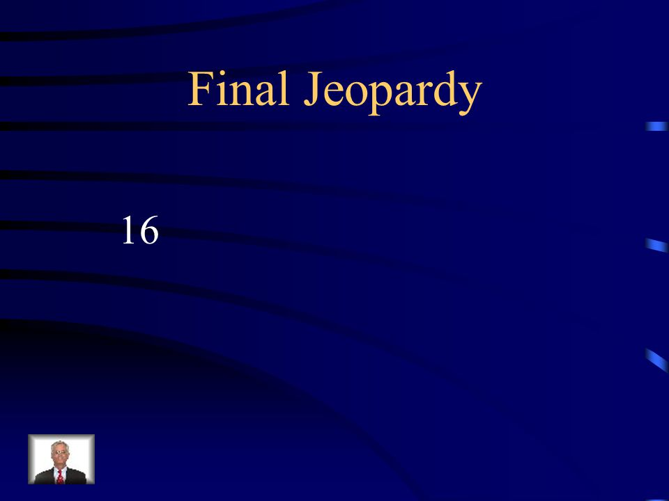 Final Jeopardy How young was Napoleon when he first became an officer