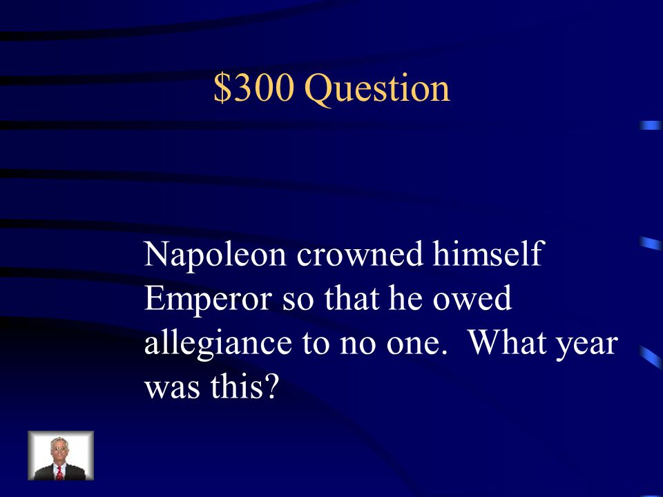 $200 Answer An agreement with a Pope