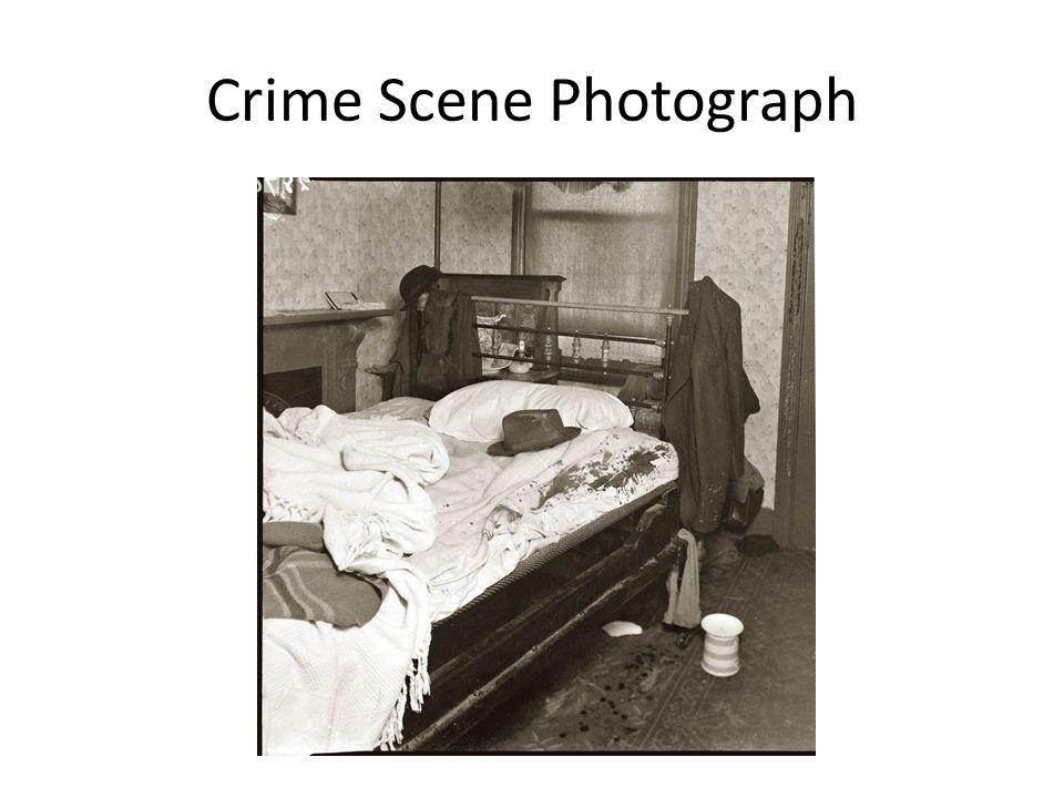 Crime Scene Photograph