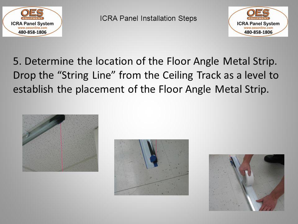 ICRA Panel Installation Steps 7.