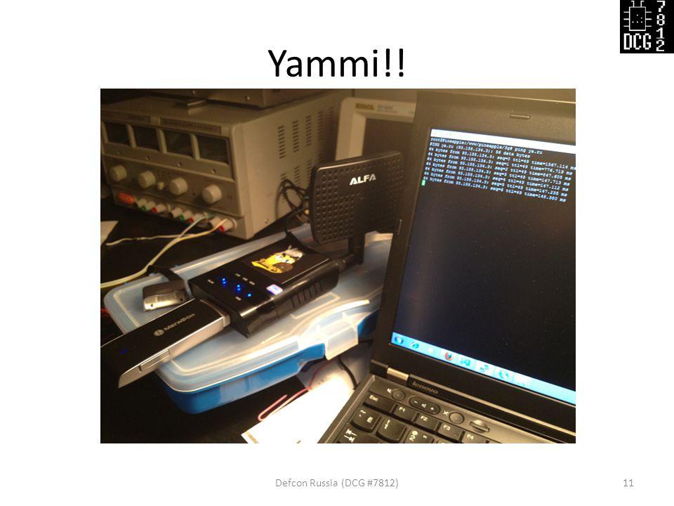 Yammi!! Defcon Russia (DCG #7812)11