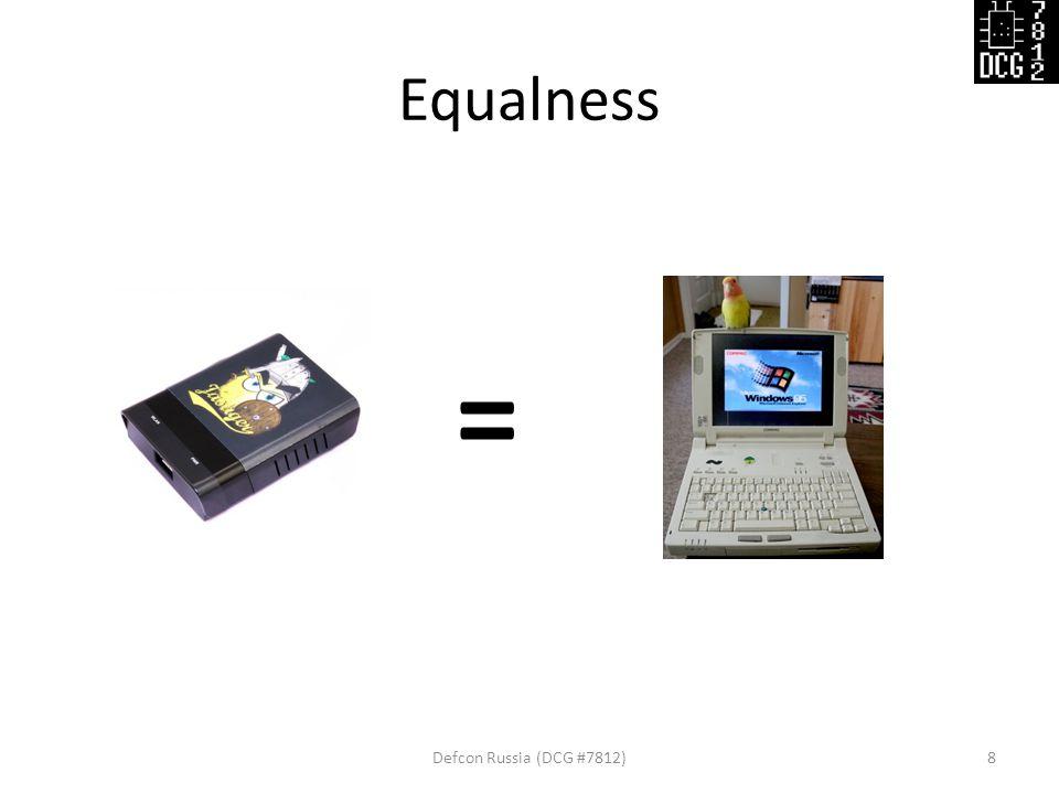 Equalness Defcon Russia (DCG #7812)8 =