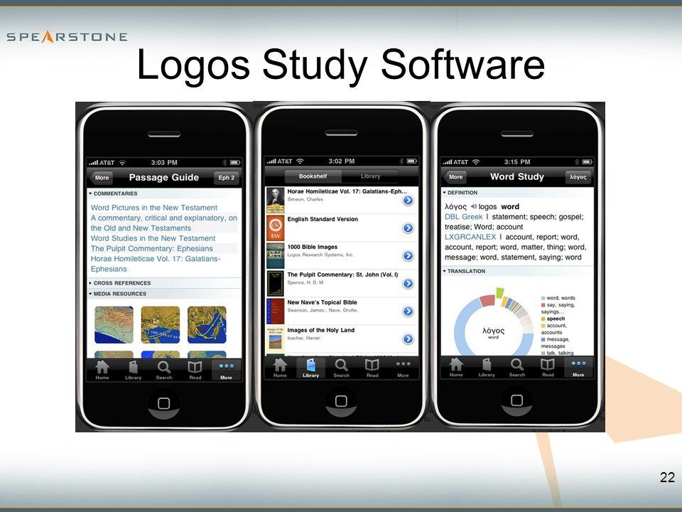22 Logos Study Software