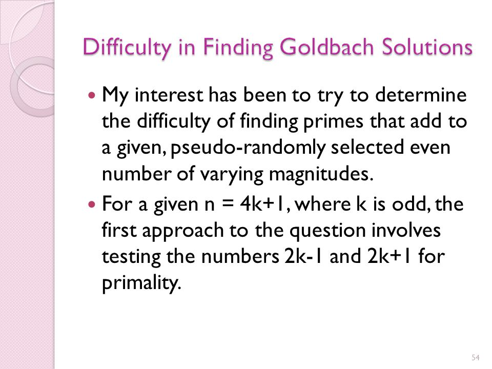 There was briefly a $1M prize for solving the Goldbach Conjecture Needless to say, it wasn't claimed, and it's now closing in on 200 years without solution Among the people who have recently looked at the Goldbach Conjecture is John Nash Also my Op-Ed in the Washington Post at the time of the release of A Beautiful Mind , regarding my interactions with him in my Princeton days, and other musings.