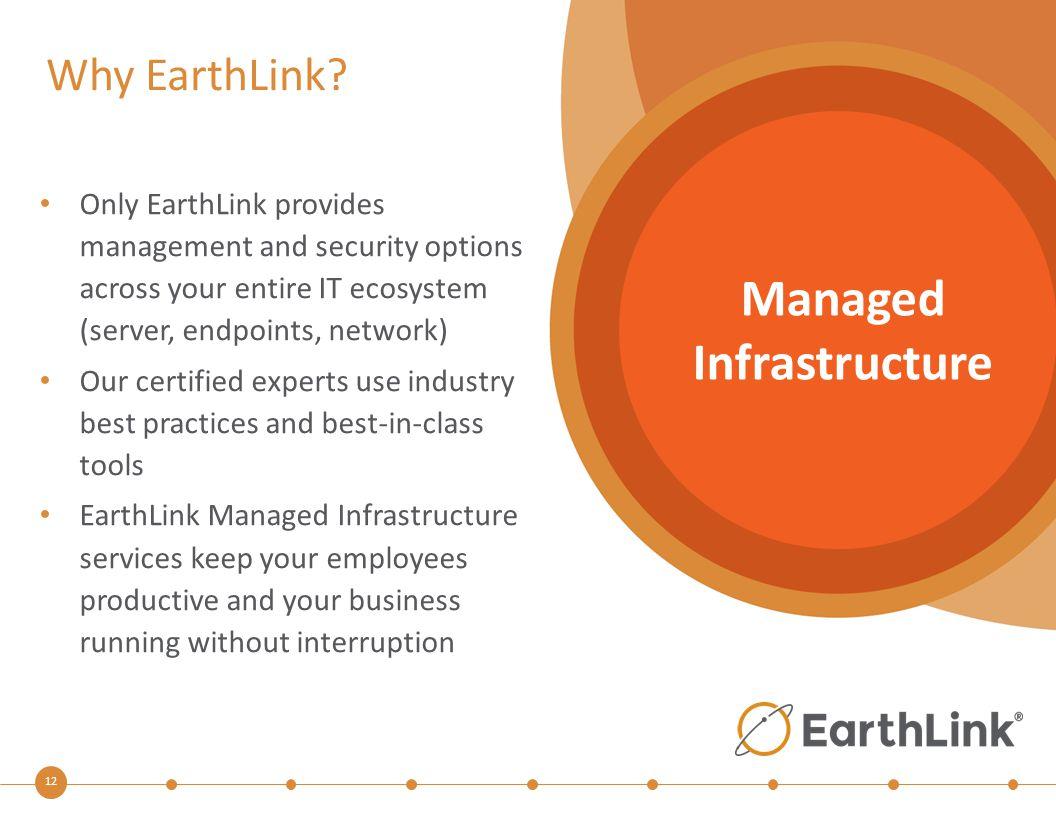 12 Why EarthLink.
