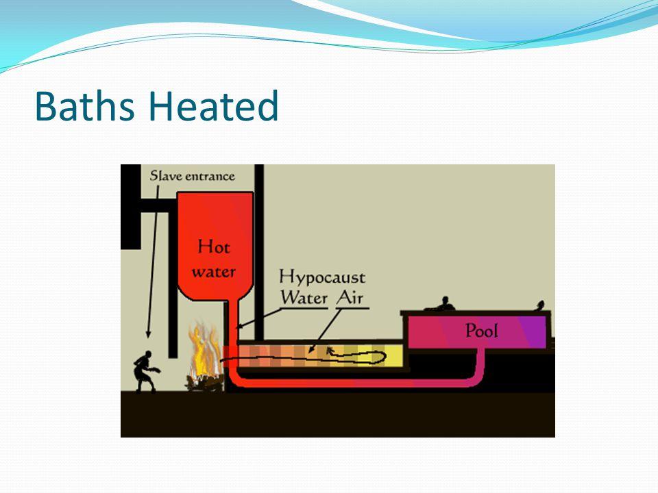 Baths Heated