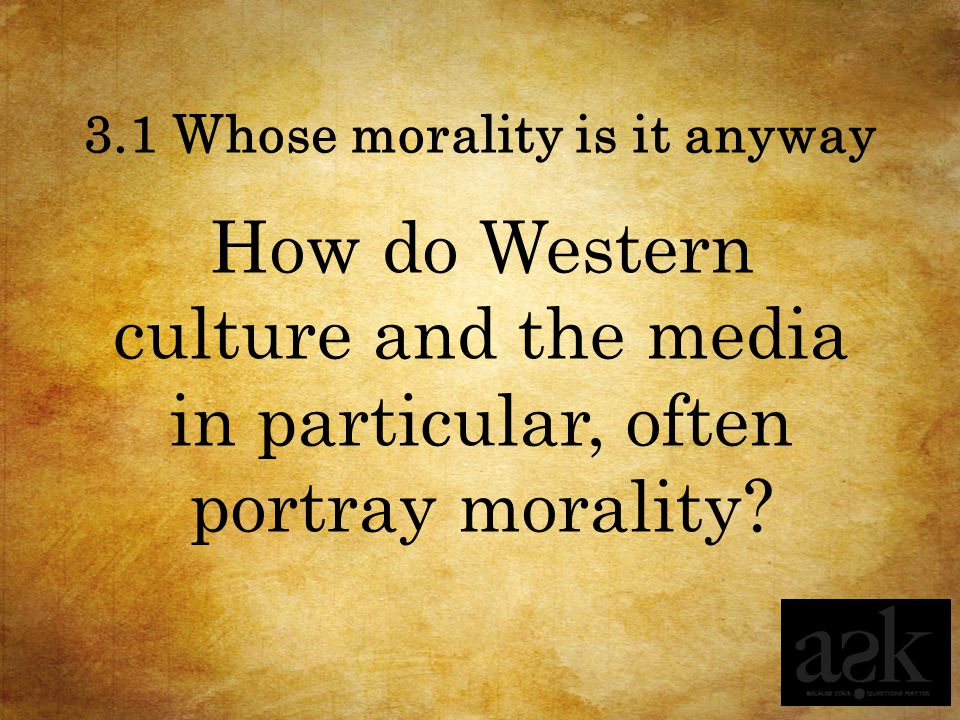MORALITY Moral Stories Session 3.4