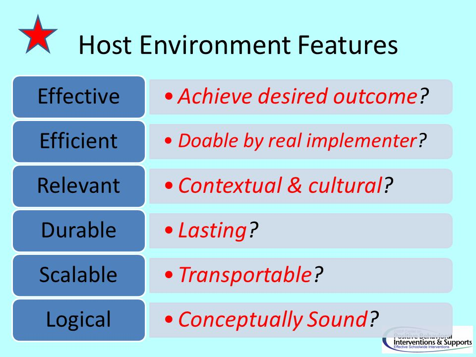 Host Environment Features