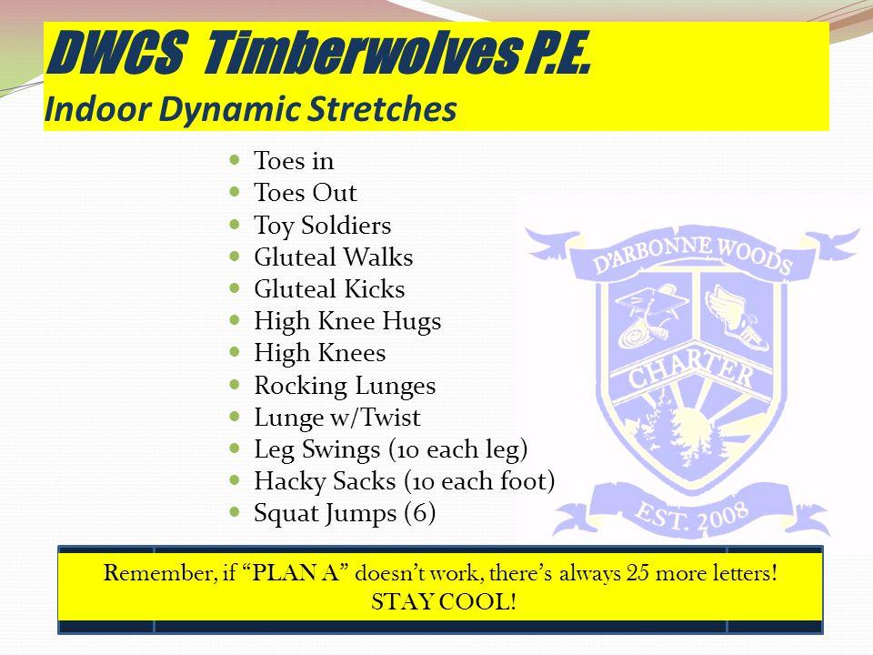 DWCS Timberwolves P.E.