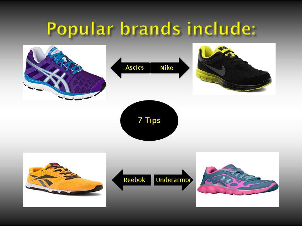 7 Tips Nike Ascics ReebokUnderarmor