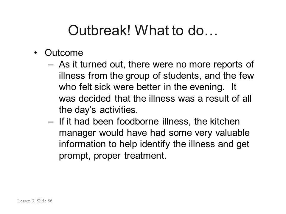 Outbreak.
