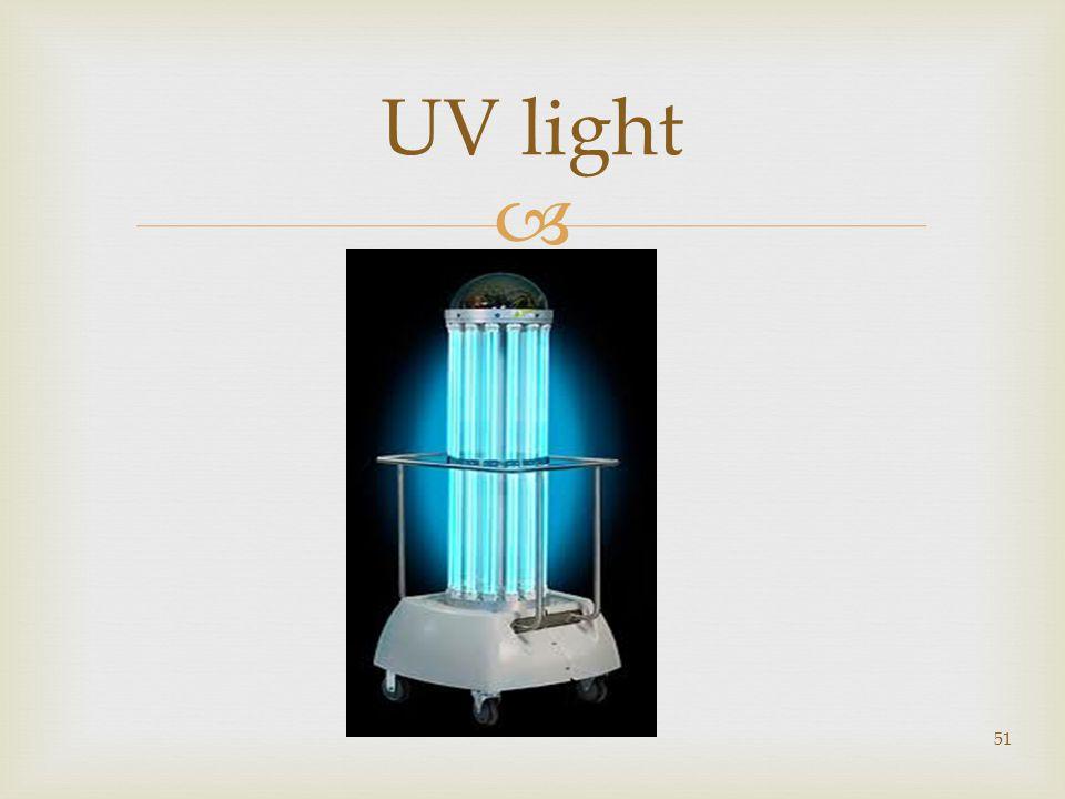  51 UV light