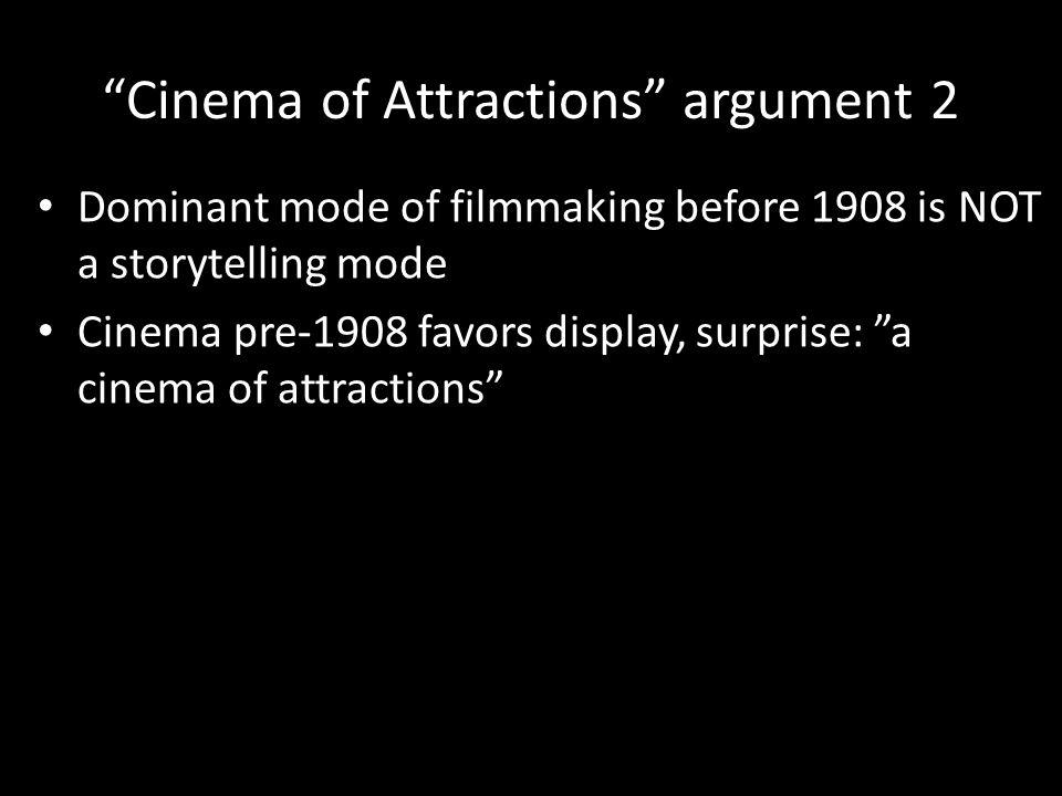 M ULTI -S CENE FILMS 1: TRANSITIONS : STRAIGHT CUTS : W ILLIAMSON, CHASE FILMS, 1901