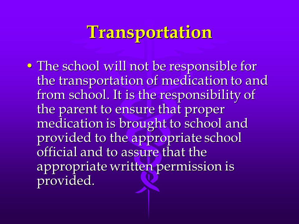 Self Medication cont. c.