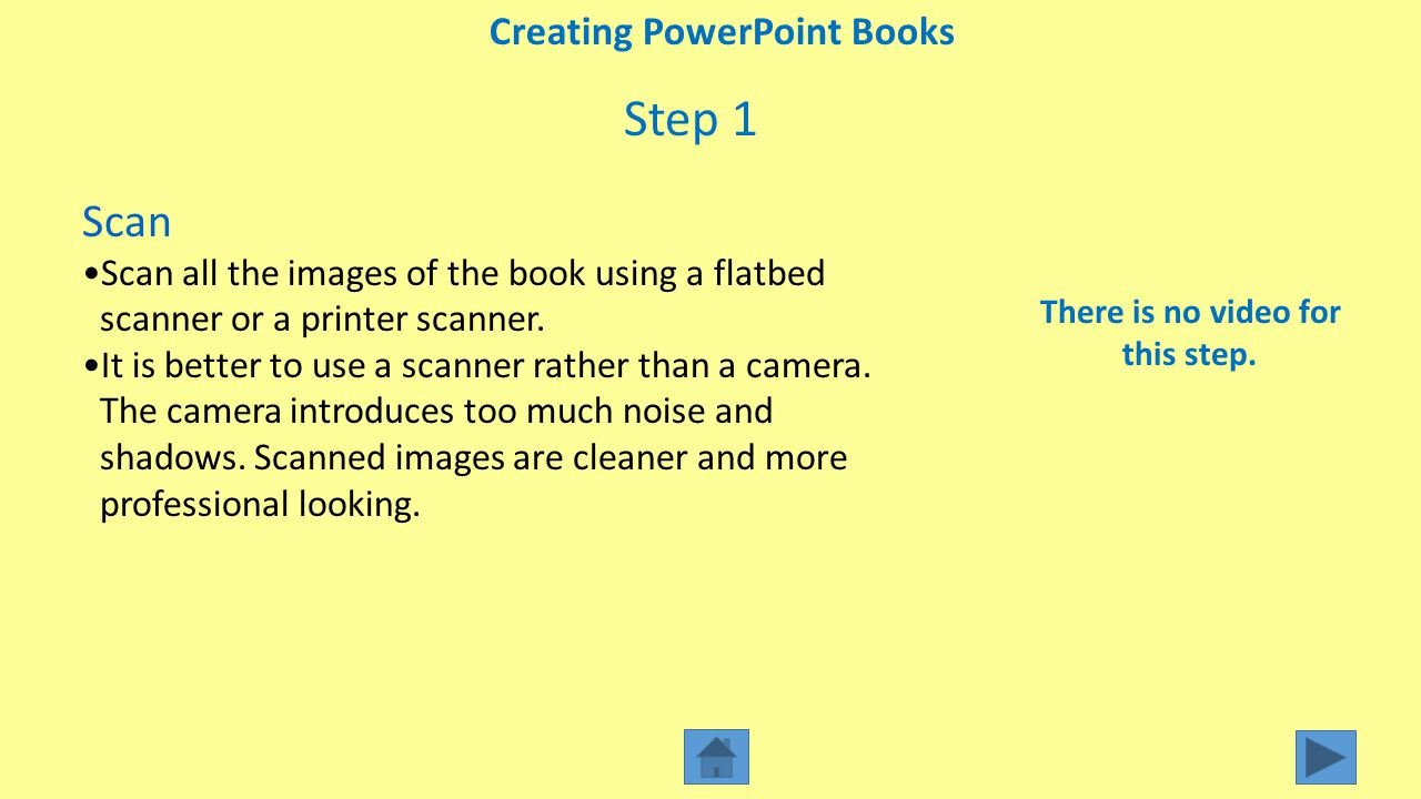 Step 2 Plan Plan how you want the pages to look on your PowerPoint.