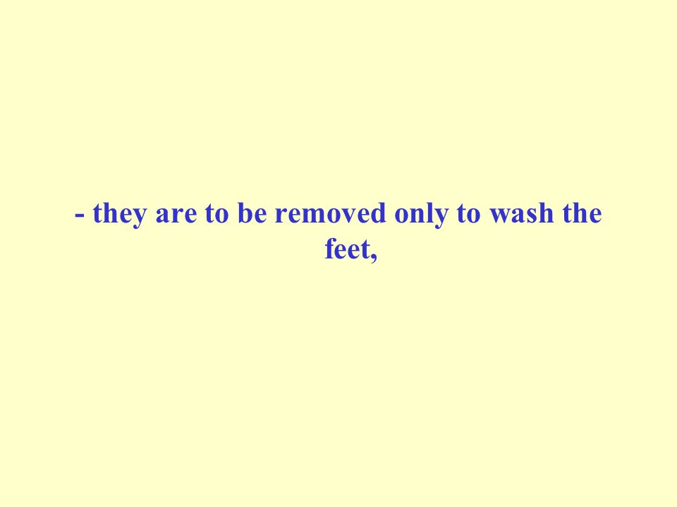 Boots of light leather (or stockings) should be worn after purification: When al-Mughirah Ibn-Shu`bah stretched out his hand to take off the Prophet's Khuff (leather socks) during performing Wudu', he said: Leave them.