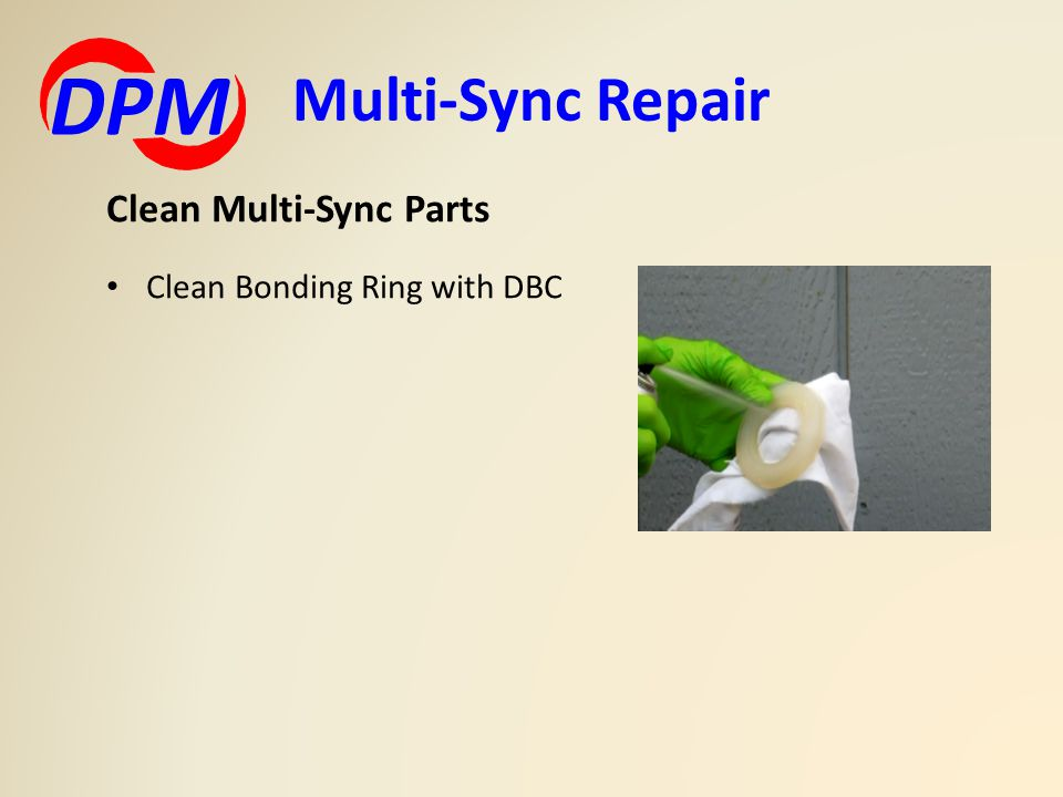 Multi-Sync Repair DPM Clean Multi-Sync Parts Clean Bonding Ring with DBC