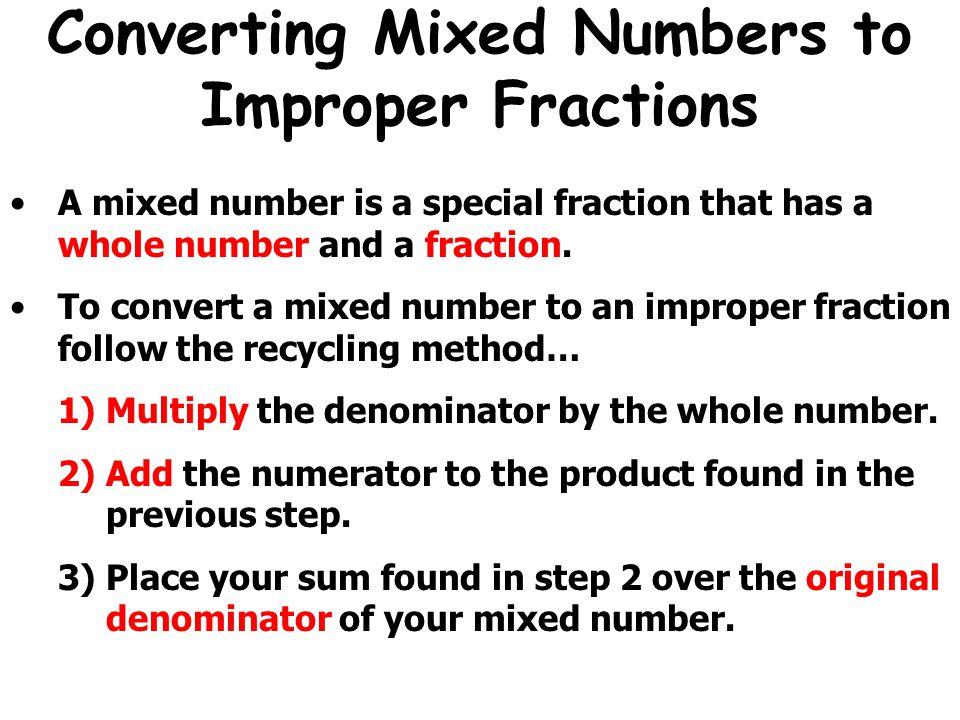 Convert Fraction To Mixed Numeral Yourhelpfulelf – Improper Fraction to Mixed Number Worksheet