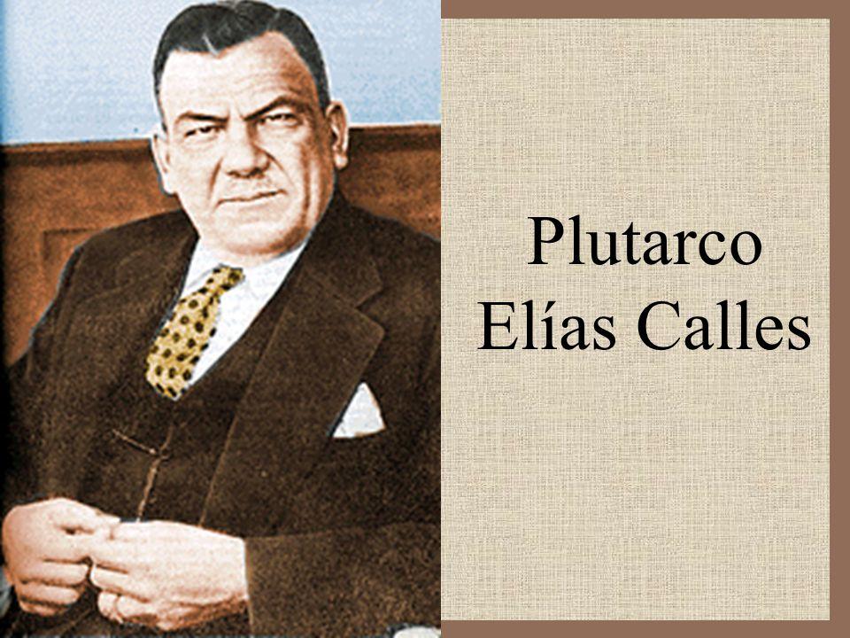 Plutarco Elías Calles