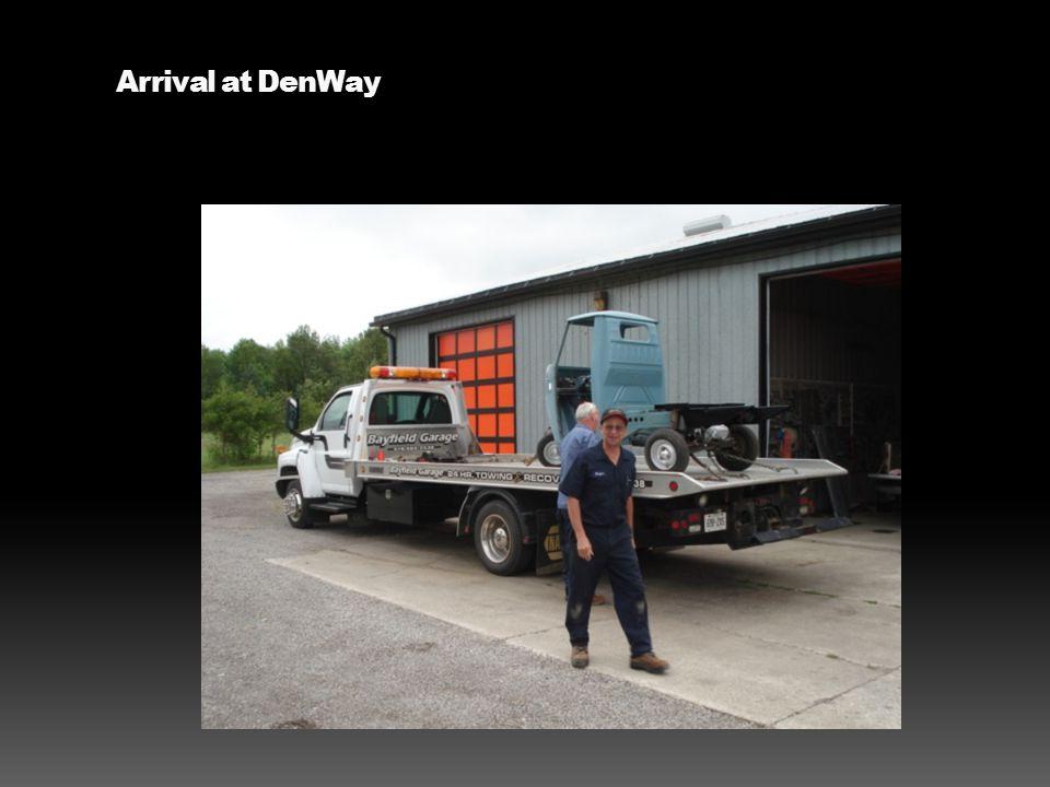 Arrival at DenWay