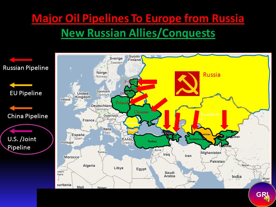 There were other benefits to Russia because of the Chechnyan/Georgian invasions.  Azerbaijan. (Baku oil region) has switched from pro-US…to pro-Russi