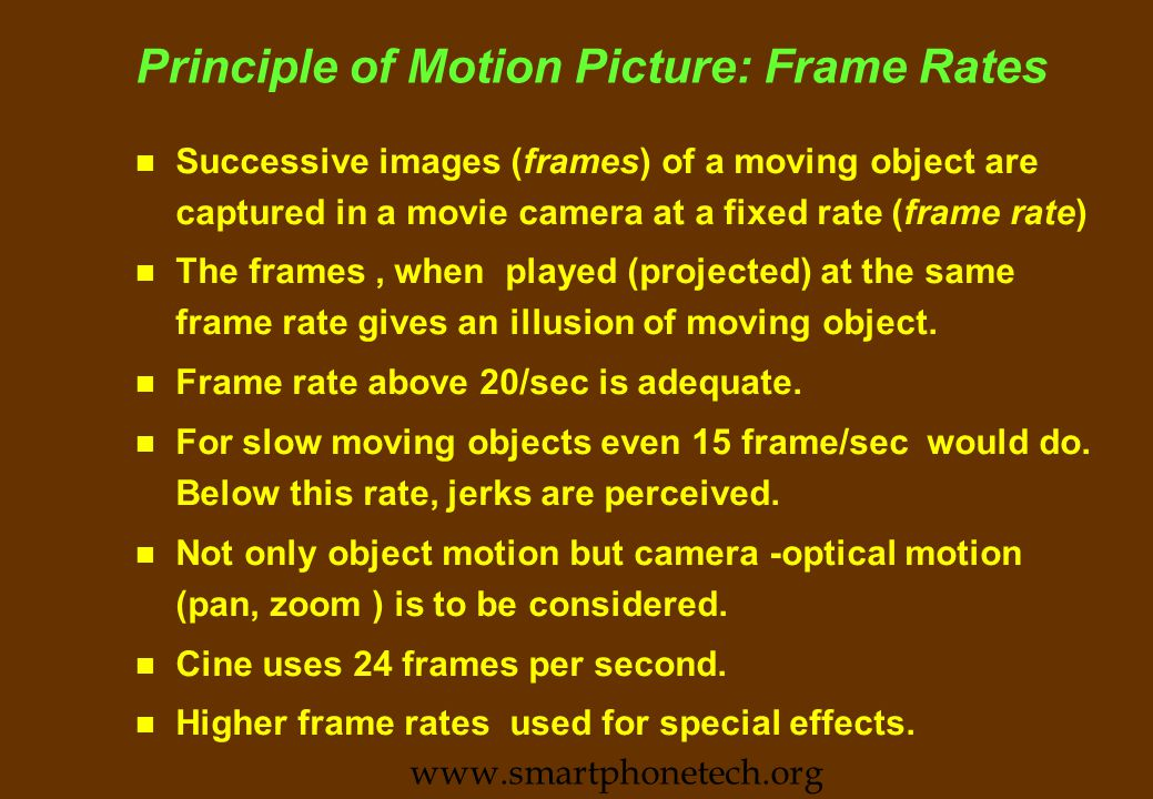 Studying Motion Video Technology n All skills are to be converged n Many techniques of Multi Media borrowed from full motion video production methodology.