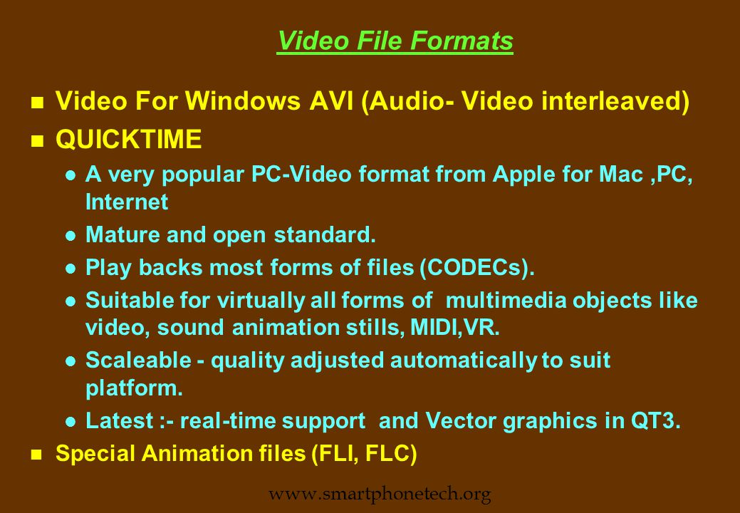 DVD(contd.) n Different Versions n DVD-Video n DVD -Audio n DVD-ROM n DVD-R (write once-by user) n DVD-RAM (rewritable) n DVD -Video and DVD -Audio may be played in dedicated players.
