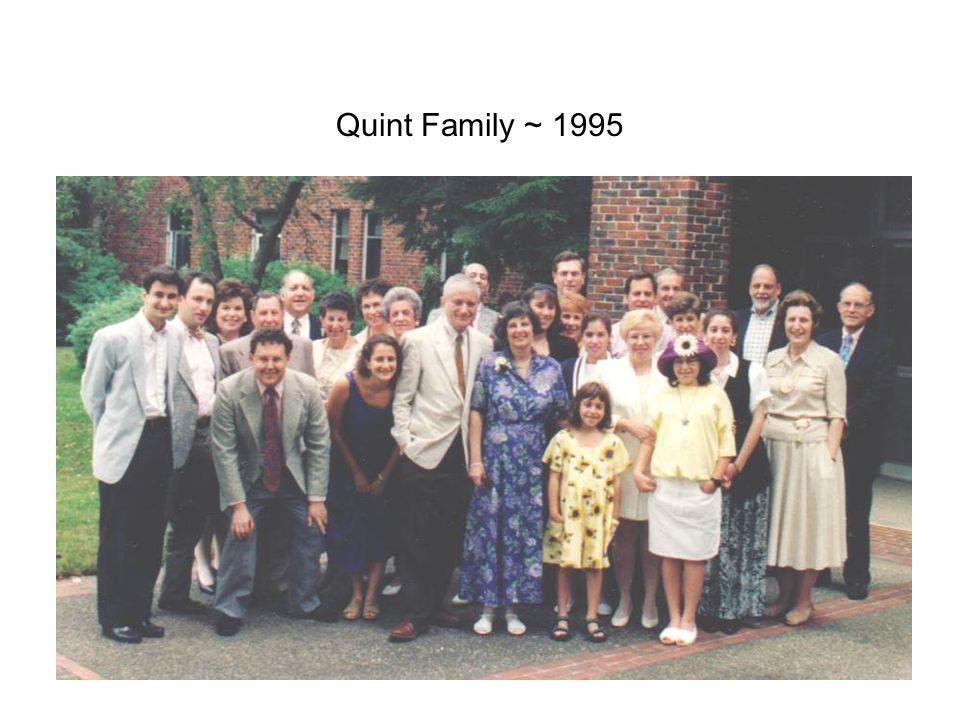 Quint Family ~ 1995