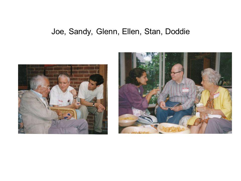 Joe, Sandy, Glenn, Ellen, Stan, Doddie
