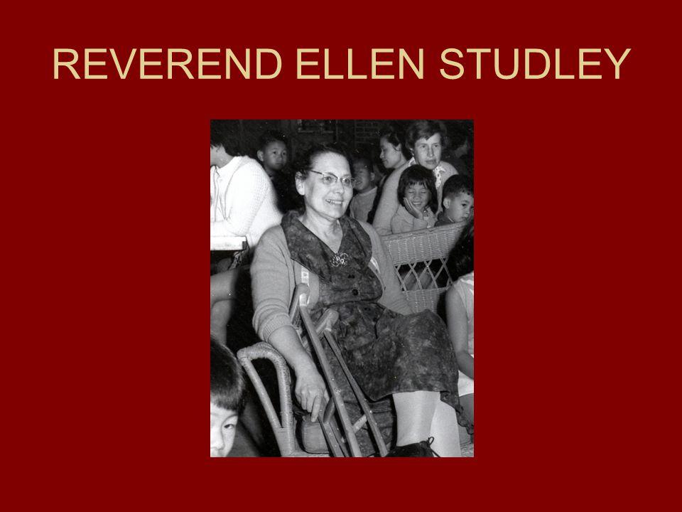 REVEREND ELLEN STUDLEY