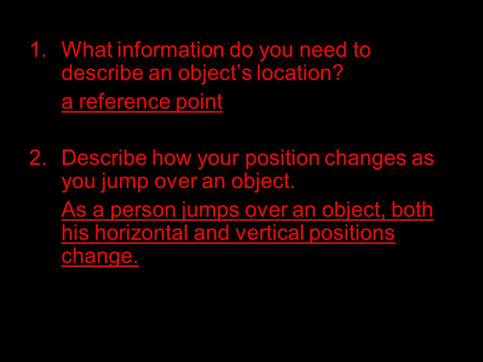 3.Give an example of how the apparent motion of an object depends on the observer's motion.