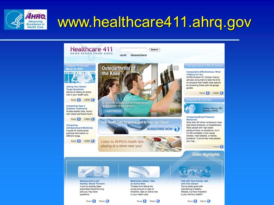 www.healthcare411.ahrq.gov