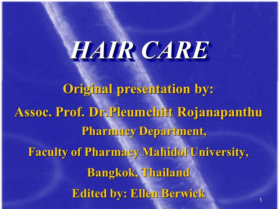 32 The hair follicle cycle