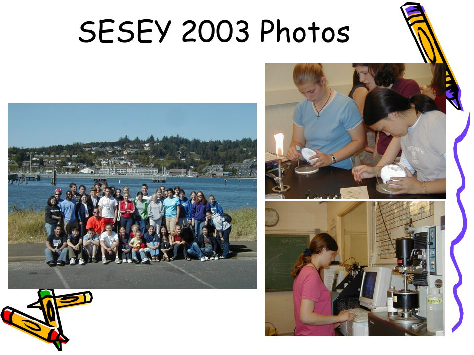 SESEY 2003 Photos